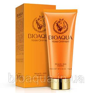 Пенка для умывания Bioaqua Horse Oil с лошадиным жиром 100 g