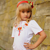 Детские вышитые футболки (Дитячі вишиті футболки)
