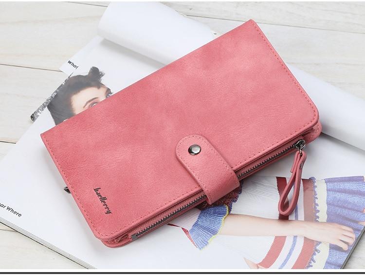Гаманець Baellerry JC224 MALINA(пудра), жіночий гаманець, гаманець клатч