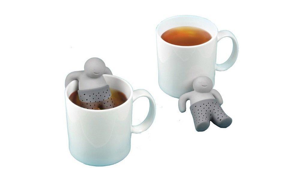Силиконовый заварник для чая Человечек