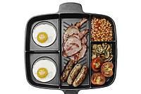Универсальная антипригарная сковорода-гриль Magic Pan 246-10