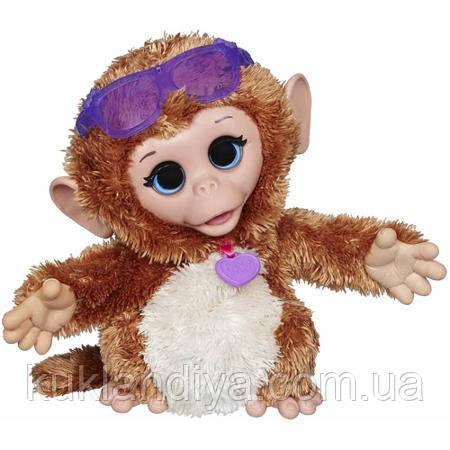 Интерактивная обезьянка FurReal Friends Baby Cuddles My Giggly Monkey