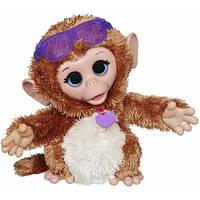 Интерактивная обезьянка FurReal Friends Baby Cuddles My Giggly Monkey, фото 1