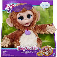 Интерактивная обезьянка FurReal Friends Baby Cuddles My Giggly Monkey