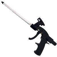 Пистолет для монтажной пены с тефлоновым покрытием иглы, трубки и держателя баллона + 4 нас INTERTOOL PT-0605
