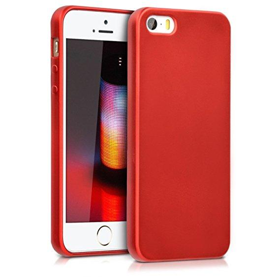 Чехол для Apple iPhone 5\5S\SE TPU Красный