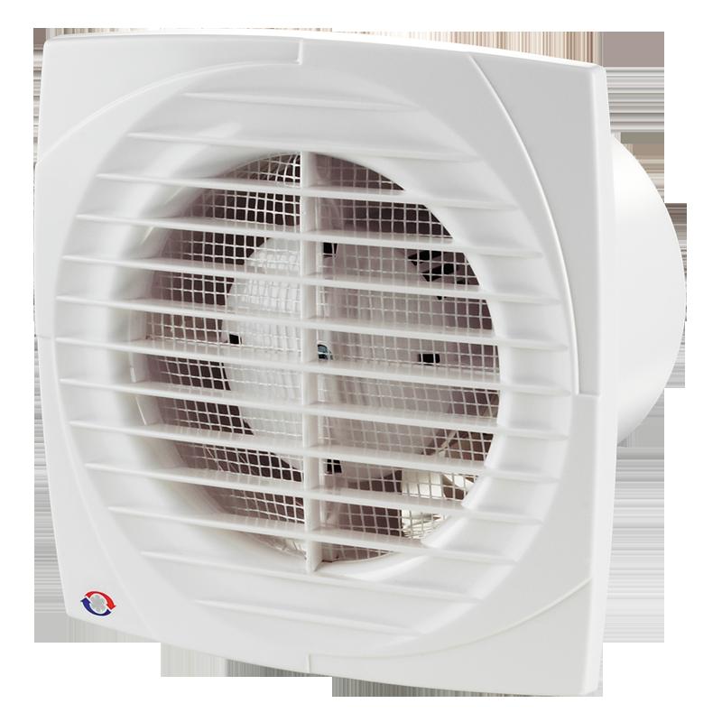 Вентилятор осевой Вентс 100 Д, вытяжной, мощность 14Вт, объем 95м3/ч, 220В, гарантия 5лет