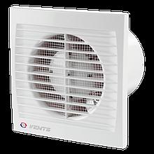 Вентилятор осевой Вентс 100 С, вытяжной, мощность 14Вт, объем 95м3/ч, 220В, гарантия 5лет