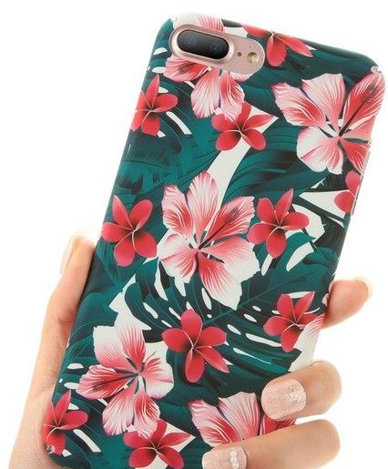 Чехол для Apple iPhone 7 Plus iPhone 8 Plus Flowers