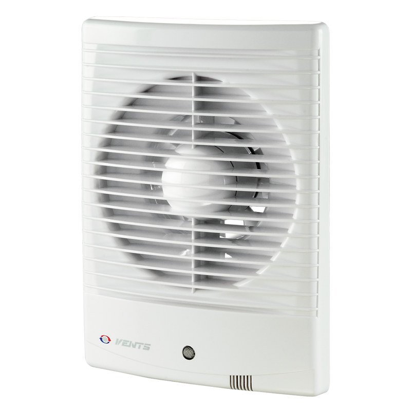 Вентилятор осевой Вентс 125 М3 ТЛ турбо, таймер, подшипник, вытяжной, мощность 22Вт, объем 232м3/ч, 220В, гарантия 5лет