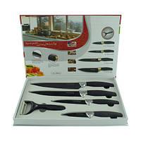 Набор ножей Unique UN-1801(Z1-1602) 4+1