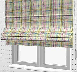 Римские шторы на кухню с балконом 400301v1
