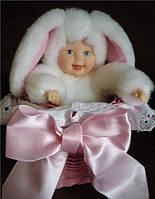 Кукла ANNE GEDDES - БЕЛОСНЕЖНЫЙ ЗАЙКА (30 см)
