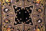 """Платок шерстяной с шелковой бахромой """"Праздник Покрова"""", 146x146 см рис 754-9, фото 3"""