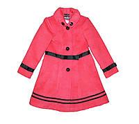 Пальто детское подростковое кашимировое для девочки. Лилия., фото 1