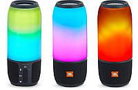 Портативная Bluetooth-колонка JBL Pulse 3 Black с Led подсветкой