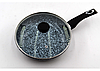 Сковорода Benson с антипригарным гранитным покрытием и крышкой 26x6см  - Фото