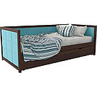 Дерев'яне ліжко Nevis Woodsoft, фото 4