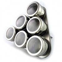 Набор для специй Benson на магнитной подставке 6 предметов