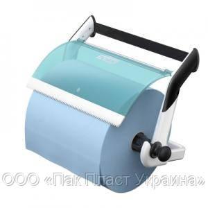 Tork настенный диспенсер для материалов в рулоне, белый/голубой (652100)