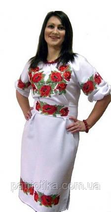 Женское вышитое платье   Жіноче вишите плаття, фото 2
