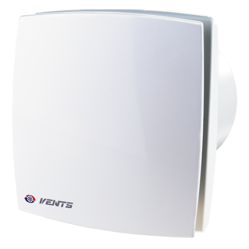 Вентилятор осевой Вентс 125 ЛД турбо, вытяжной, мощность 24Вт, объем 209м3/ч, 220В, гарантия 5лет