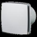Вентилятор осевой Вентс 125 ЛД турбо, микровыключатель, таймер, датчик влажности, клапан, вытяжной, мощность 24Вт, объем 209м3/ч, 220В, гарантия 5лет, фото 3