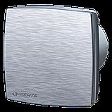 Вентилятор осевой Вентс 125 ЛД турбо, микровыключатель, таймер, датчик влажности, клапан, вытяжной, мощность 24Вт, объем 209м3/ч, 220В, гарантия 5лет, фото 4