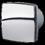 Вентилятор осевой Вентс 125 ЛД турбо, микровыключатель, таймер, датчик влажности, клапан, вытяжной, мощность 24Вт, объем 209м3/ч, 220В, гарантия 5лет, фото 5