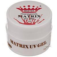 Гель паутинка для дизайна ногтей Master Professional MATRIX 010 Персиковый