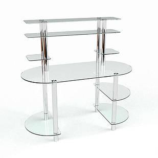 Скляний комп'ютерний стіл Аванті БЦ-стол