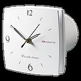 Вентилятор осевой Вентс 125 ЛД ТК Фреш тайм, таймер, клапан, вытяжной, мощность 16Вт, объем 167м3/ч, 220В, гарантия 5лет, фото 3