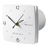 Вентилятор осевой Вентс 100 ЛД К Фреш тайм 12, клапан, вытяжной, мощность 14Вт, объем 77м3/ч, 12В, гарантия 5лет, фото 3