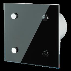 Вентилятор осевой Вентс 100 Модерн ВТН , микровыключатель, таймер, датчик влажности, вытяжной, мощность 14Вт, объем 88м3/ч, 220В, гарантия 5лет
