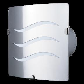 Вентилятор осевой Вентс 100 З6 Л турбо, подшипник, вытяжной, мощность 16Вт, объем 135м3/ч, 220В, гарантия 5лет