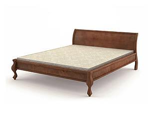 Ліжко односпальне в спальню, дитячу з натурального дерева 90х200 Палермо Mebigrand