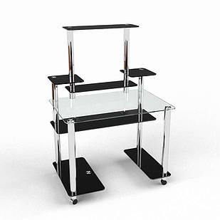 Скляний комп'ютерний стіл Европа БЦ-стол