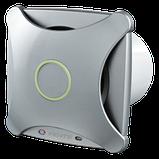 Вентилятор осевой Вентс 100 Х ВТЛ турбо, микровыключатель, таймер, подшипник, вытяжной, мощность 16Вт, объем 116м3/ч, 220В, гарантия 5лет, фото 2