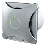Вентилятор осевой Вентс 125 Х ТН турбо, таймер, датчик влажности, вытяжной, мощность 24Вт, объем 206м3/ч, 220В, гарантия 5лет, фото 2