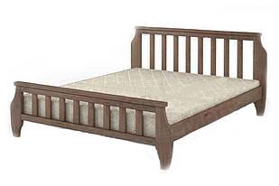 Ліжко односпальне в спальню з натурального дерева 90х200 Марсель Mebigrand