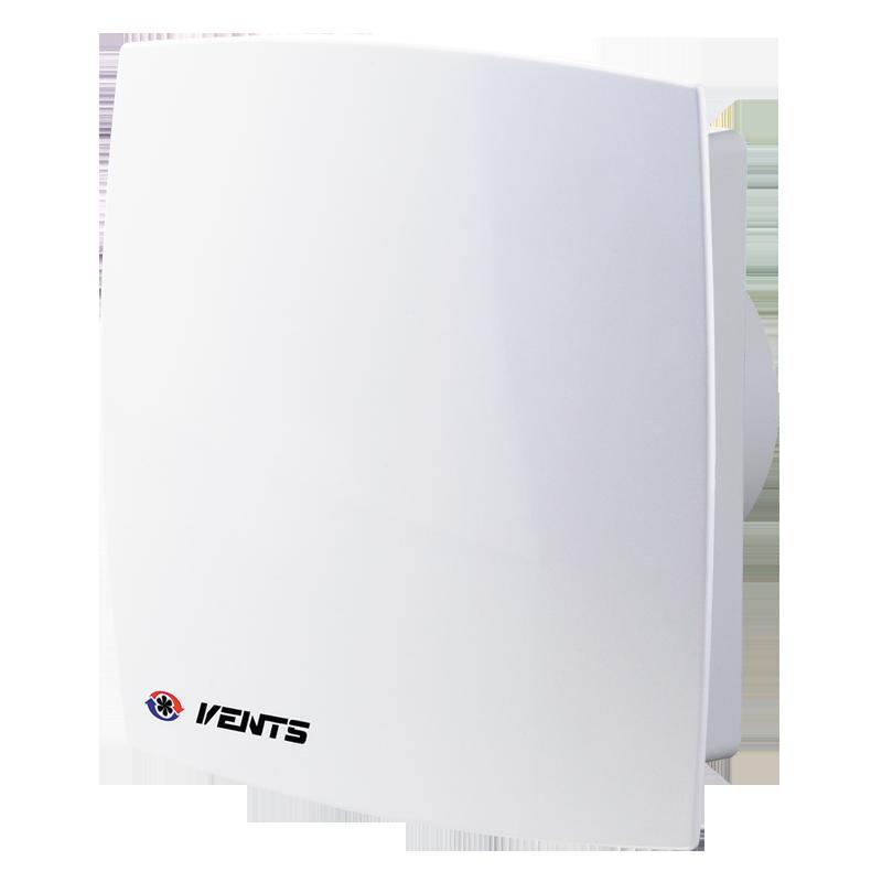 Вентилятор осевой Вентс 125 ЛД Авто пресс, жалюзи, вытяжной, мощность 29Вт, объем 188м3/ч, 220В, гарантия 5лет