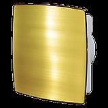 Вентилятор осевой Вентс 125 ЛД Авто пресс, жалюзи, вытяжной, мощность 29Вт, объем 188м3/ч, 220В, гарантия 5лет, фото 2