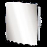 Вентилятор осевой Вентс 125 ЛД Авто пресс, жалюзи, вытяжной, мощность 29Вт, объем 188м3/ч, 220В, гарантия 5лет, фото 4