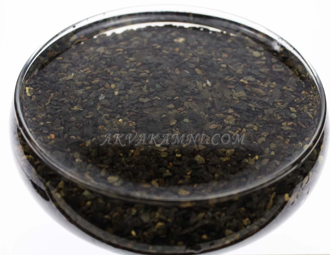 Грунт для акваріума базальт чорний (1-3мм)