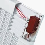 Вентилятор осевой Вентс 125 ЛД Модерн Авто ВТ , жалюзи, микровыключатель, таймер, вытяжной, мощность 22Вт, объем 185м3/ч, 220В, гарантия 5лет, фото 4