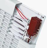 Вентилятор осевой Вентс 125 ЛД Модерн Авто ВТ , жалюзи, микровыключатель, таймер, вытяжной, мощность 22Вт, объем 185м3/ч, 220В, гарантия 5лет, фото 5