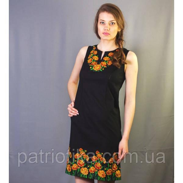 Платье вышитое Бархатцы | Плаття вишите Чорнобривці