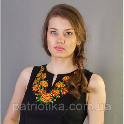 Платье вышитое Бархатцы | Плаття вишите Чорнобривці, фото 2