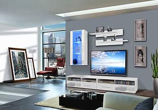 Комплект в вітальню (стенка в гостиную) Clevo 25 WW CL G1 ASM