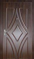 Дверь бронированная с накладкой МДФ. Установка, Днепропетровск